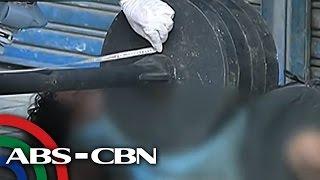 TV Patrol: Palaboy sinadyang bagsakan ng bakal, sapul sa CCTV