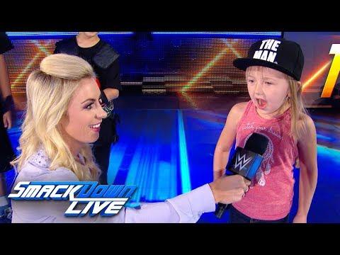 Sarah Schreiber hosts a Superstar impression contest SmackDown Exclusive June 18 2019