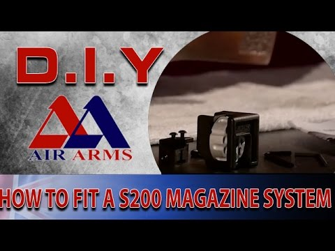 Air Arms D.I.Y: How To Fit A New Magazine System To A S200 Air Rifle
