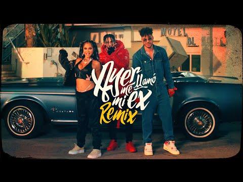 KHEA Natti Natasha Prince Royce Ayer Me Llamó Mi Ex Remix ft. Lenny Santos Official Video