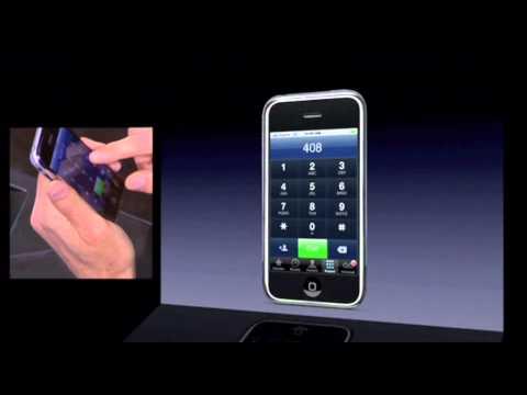Steve Jobs iPhone 2007 Presentation (HD)