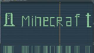What MineCraft Sounds Like - MIDI Art