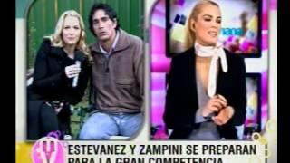 SEBASTIAN ESTEVANEZ Y CARINA ZAMPINI HABLARON DE SUS ESCENAS HOT Y EL RATING