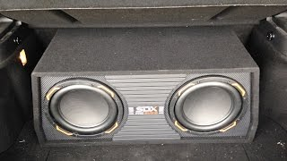 Cheapest Subwoofer Install $58 +tax