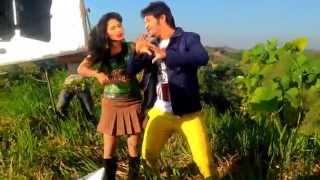 SEXY Alisha Pradhan n Emon Shooting comedy song- Movie ONTORONGO