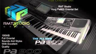 KORG PA900 RMT Oriental Set sounds styles loops