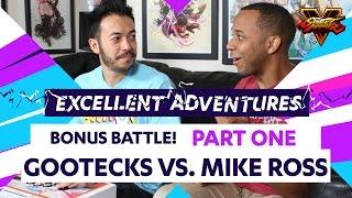 GOOTECKS VS. MIKE ROSS! Part 1 - The Excellent Adventures of Gootecks & Mike Ross Bonus Battle