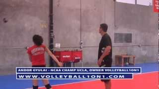Coaching Youth Volleyball Spiking Technique