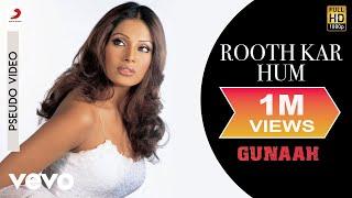 Rooth Kar Hum - Official Audio Song | Gunaah | Sajid Wajid