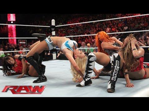 Xxx Mp4 NXT Divas Emerge To Challenge Team Bella Raw July 13 2015 3gp Sex