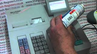 How To Change Price Of Barcode EAN Product On Sharp XE-A307/XE-A407/XE-A507 Cash Register
