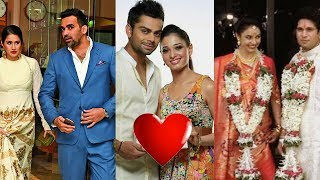 Real Life partners of Indian Cricketers|Marriage pics of Indian Cricket team ❤️