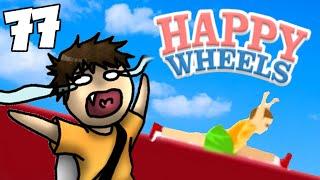 SPACCATA MORTALE PER LUKE! - Happy Wheels [Ep.77]