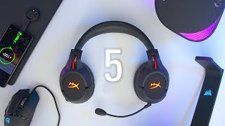 5 MUST HAVE Gaming PC Accessories!