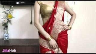 How To Wear Saree-Deepika Kellogs Ad Style Sari Draping/Wrap Hot Diva Style Sarees