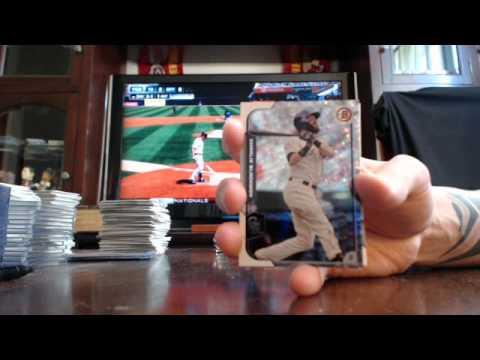 majorlps 2015 bowman baseball 1/2 case break 4/29/15 - ebay afternoon ORANGE AUTO MOJO x 2