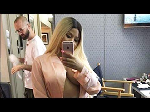 Nicki Minaj Posts Nearly NUDE Selfie