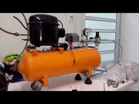 Compressor de Ar Caseiro Lista de Peças