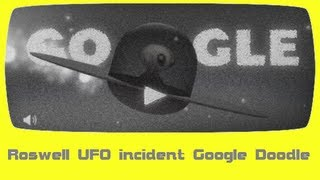Roswell UFO incident Google Doodle [HD]