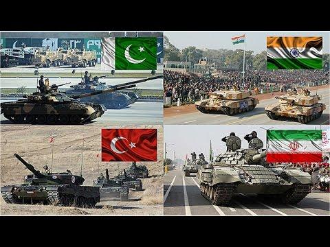 watch Pakistan & Turkey VS India & Iran Military Power Comparison 2016-2017