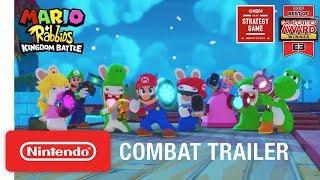 Mario + Rabbids Kingdom Battle: Combat Gameplay Trailer - Nintendo Switch