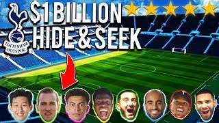 HIDE & SEEK Football Competition in $1 BILLION TOTTENHAM HOTSPUR STADIUM