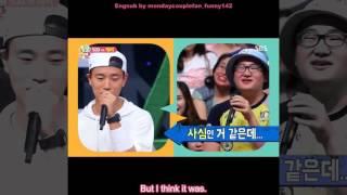 Running man Engsub - Monday Couple Ji Hyo admits she has feelings for Gary