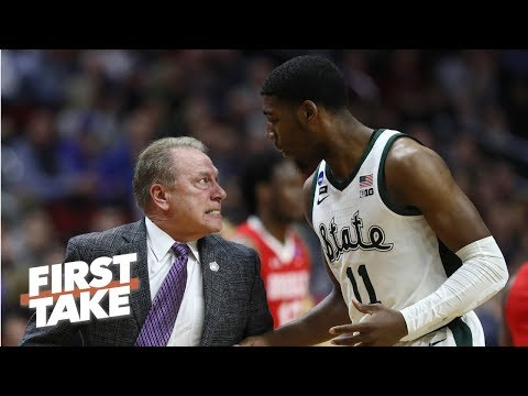 Michigan State coach Tom Izzo yelling at Aaron Henry is a non issue Stephen A. First Take