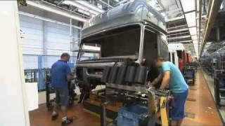 Mercedes Benz new ACTROS 2011 trucks Production Plant Worth