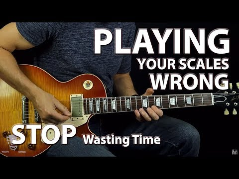 You Are Playing Your Scales Wrong (The Map Technique)