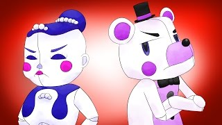 Minecraft Fnaf: Sister Location - Ballora And Funtime Freddy Fight (Minecraft Roleplay)