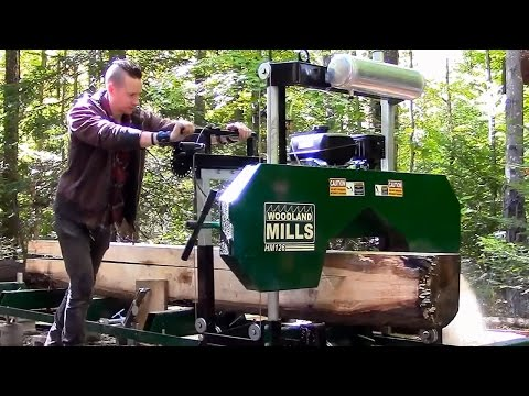 Xxx Mp4 Portable Sawmills Are They Worth The Money Woodland Mills HM126 3gp Sex
