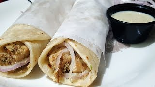 Spicy Chicken Chutney Paratha Roll Better than Restaurant by (YES I CAN COOK)
