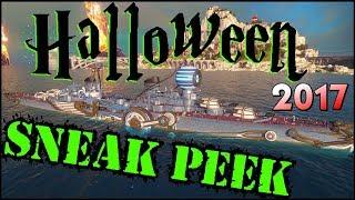 Halloween 2017 Sneak Peek 👻- World of Warships