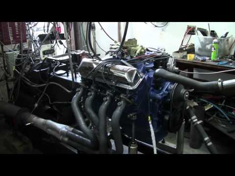 Ford FE 390 GT 445 Stroker Dyno Pull