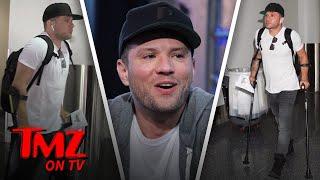 Ryan Phillippe Is A Crutch Master | TMZ TV