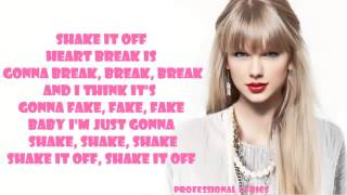 Taylor Swift-shake it off lyrics