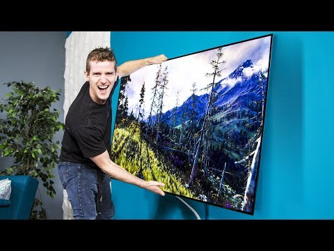 LG's OLED Wallpaper TV – Can we use it as a WINDOW Pt.1