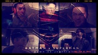 Batman v Superman: Dawn of Justice - SDCC 2014 Leaked Trailer (Reactions Mashup v2)