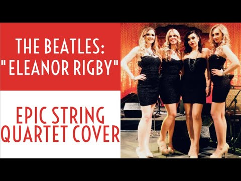 Eleanor Rigby (The Beatles arr. Chaffee) - Phat Strad Electric String Quartet Acoustic Sessions