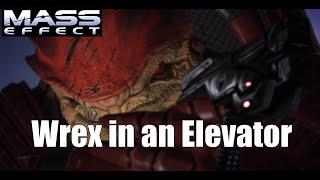 Wrex in an Elevator - Mass Effect PC