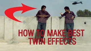 how to clone yourself creative50.com twin effect tutorial in after effect .clone effect in 2d camera
