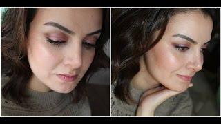 Sevgililer Günü Makyajım | Pembe Tonlarda Makyaj