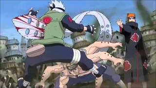 Kakashi VS Pain HD [Pelea Completa] By GreenPark2141