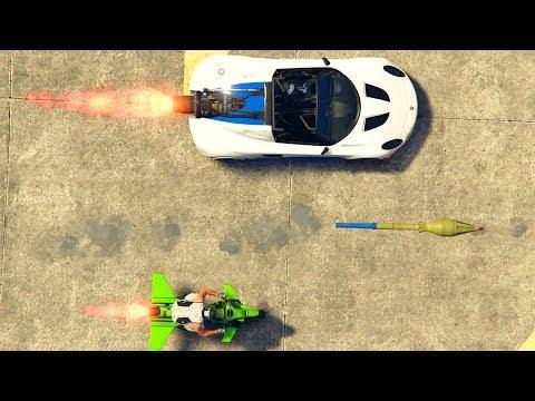 ROCKET MOTO vs ROCKET CAR