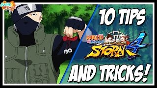 Naruto Shippuden: Ultimate Ninja Storm 4 - 10 Tips And Tricks To Help You Online!