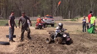 Kids Quad ATV Mud Races At Run What Ya Brung Indiana