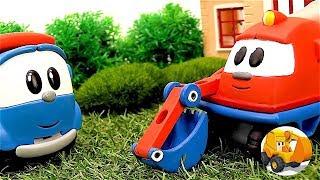 Leo el Pequeño Camión de juguete - El cumpleaños de Skoop - Carritos para niños