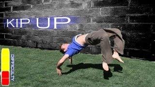 KIP UP Parkour Tutorial - How To Get Up Like a Ninja