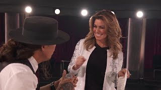 Shania Twain Pushes Logan Staats to Connect With 'The Lucky Ones'